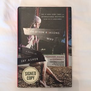 Signed copy of Thirteen Reasons Why by Jay Asher